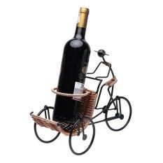 Kệ rượu hình người đạp xích lô chở rượu Eden Living EDL-R017