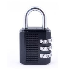 Khóa mã số hành lý (Đen)