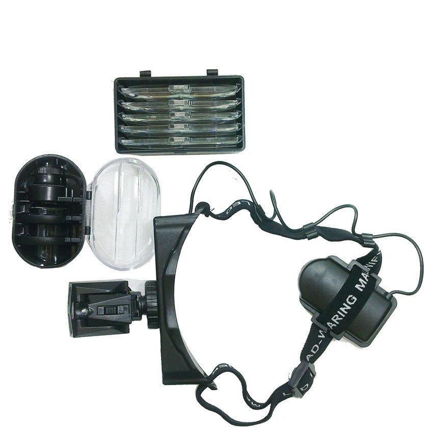 Kính lúp đội đầu có đèn CC01