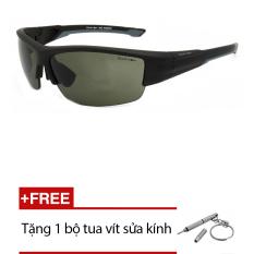 Kính mát nam Exfash EF 2775 299 (Đen) + Tặng 1 bộ tua vít sửa kính