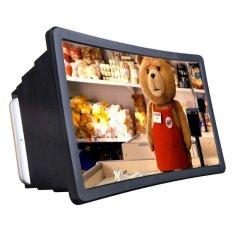 Kính xem phim phóng to màn hình điện thoại 3D F2 (Đen)