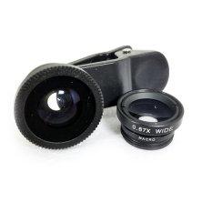 Lens chụp ảnh 3 trong 1 cho điện thoại (Đen)