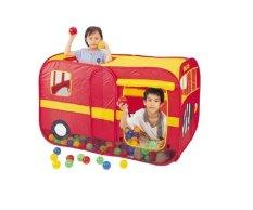 Lều chơi bóng của bé hình xe buýt