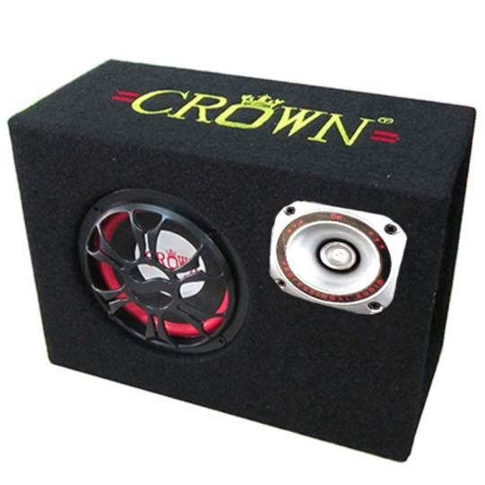 Loa Crown 5 Vuông Tặng Cáp Kết Nối Điện Thoại Kèm dây AV