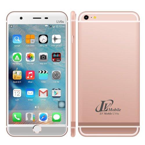 LV mobile LV6S 5.5 inch 2 Sim 4Gb (Hồng)