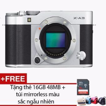 Bảng Báo Giá FUJIFILM X-A3 Body + Tặng kèm 1 thẻ 16GB 48MB + 1 Túi Mirroless – Hãng phân phối chính thức