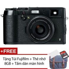 Máy ảnh KTS Fujifilm X100T 16.3MP và Zoom quang 0.5x (Đen) + Tặng 1 Túi Fujifilm, 1 Thẻ nhớ 8GB, 1 Tấm dán màn hình