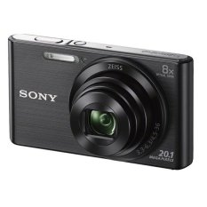 Máy ảnh KTS Sony Cyber shot DSC W830 20.1MP và zoom quang 8x (Đen) – Hãng phân phối chính thức