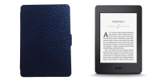 Máy đọc sách Kindle Paperwhite 2015 (Đen) + bao da (Đen)