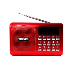 Máy nghe nhạc đa năng Craven CR-16