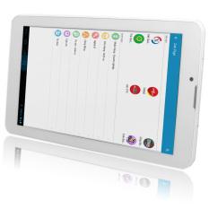Máy tính bảng cutePad M7022 4-core 8GB 3G (Trắng) – Hãng Phân phối chính thức