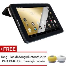Máy tính bảng cutePad Tab 4 M7047 4-core 7″ IPS 8GB Wifi 3/3.5G (Đen) – Hãng Phân phối chính thức + Tặng 1 loa di động Bluetooth cutePAD TX-BS138 màu ngẫu nhiên