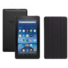Máy tính bảng Fire 8GB Wifi (Đen) + Bao da đen – Hàng nhập khẩu