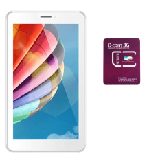 Địa Chỉ Bán Máy tính bảng Masstel Tab 705 8GB 3G 2 Sim (Vàng) + 1 Sim Dcom 3G Viettel