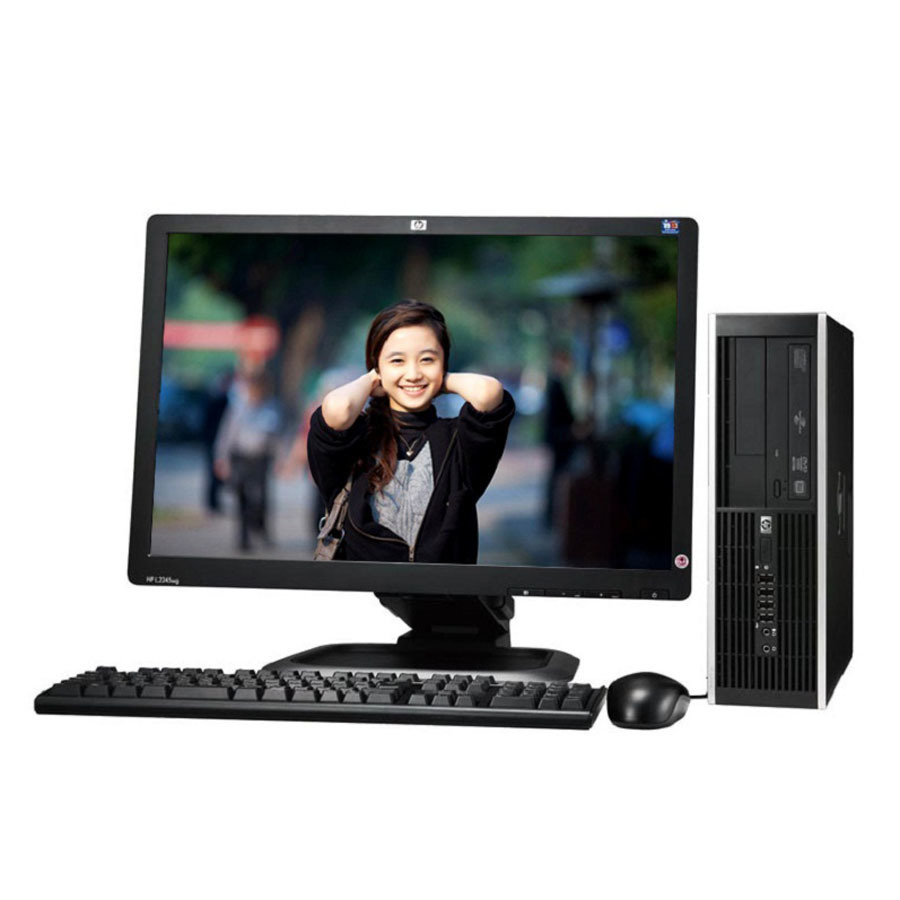 Máy tính để bàn HP DC7900 Core2 Duo RAM 4GB LCD 19inch (Đen Bạc)