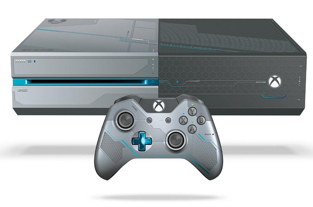 Giá Khuyến Mại Máy Xbox One 1TB Console – Limited Edition Halo 5: Guardians – Hàng nhập khẩu