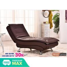 [ Có Video] Ghế sofa thư giãn bằng da 3 chế độ ghế phòng khách phòng ngủ- ghế lười nằm