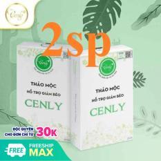 2 hộp Thảo mộc hỗ trợ giảm béo Cenly 2 x 30v = 60 viên