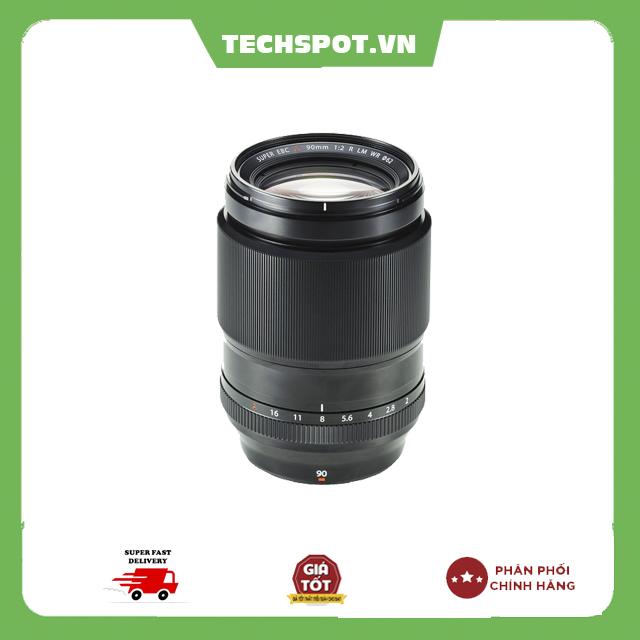 Ống Kính Fujinon XF 90mm F2.0R LM WR – Chính Hãng Fujifilm Việt Nam