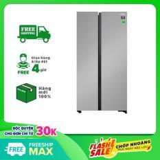 TRẢ GÓP 0% – Tủ lạnh Samsung Inverter 647 lít RS62R5001M9/SV – Bảo hành 12 tháng