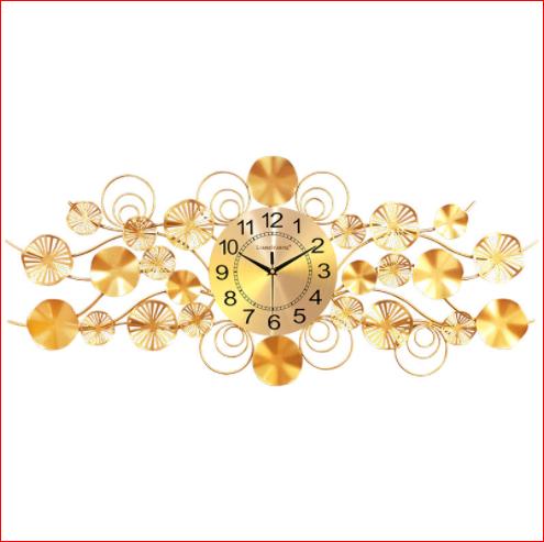 Đồng hồ treo tường trang trí phong cách hiện đại Lian578 chính hãng