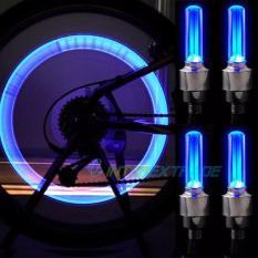 Đèn led xe máy (bộ 2 bóng) gắn van bánh xe, gồm 2 bóng và phụ kiện xe máy, xe đạp, xe đạp điện, đồ chơi trợ sáng phù hợp serius, wave, sh150i…