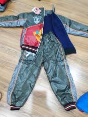 Bộ quần áo gió siêu nhân cho bé trai 18 – 22 kg