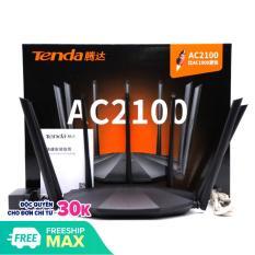 Bộ Phát Wifi Tenda AC23 Ăng Ten 6dbi Phát Wifi Chuẩn AC2100 Model 2020 Mạng Thông Minh