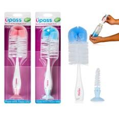 Bộ cọ rửa bình sữa và núm ti Upass có đế hút chân không2 up7004n, cam kết hàng đúng mô tả, chất lượng đảm bảo an toàn đến sức khỏe người sử dụng, đa dạng mẫu mã