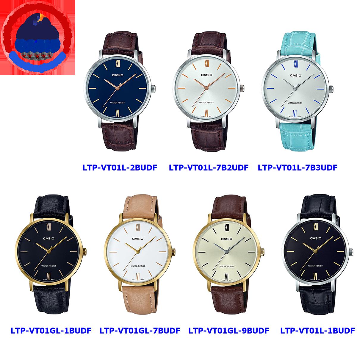Đồng hồ nữ Casio LTP-VT01 ❤️ 𝐅𝐑𝐄𝐄𝐒𝐇𝐈𝐏 ❤️ Đồng hồ Casio chính hãng Anh Khuê đồng hồ nữ đẹp giá rẻ chính hãng