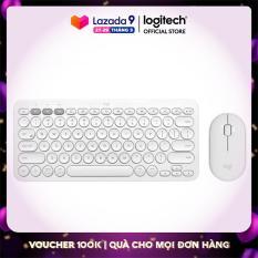 Combo Bàn phím K380 Bluetooth Multi-Device và chuột Pebble M350 Silent