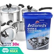 Bột tẩy rửa đa năng đánh sạch vết bẩn (Oven & Cookware Cleaner)