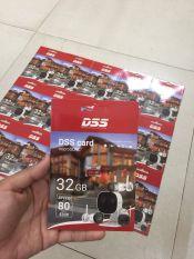 Thẻ nhớ DSS Mirco SD 32GB 80MB/s chuyên ghi hình cho camera