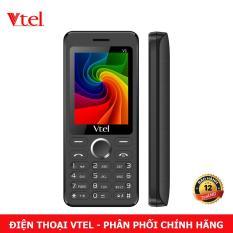 Điện thoại di động Vtel V1 – 2 SIM (Màu Đen) – Bảo Hành 12 Tháng