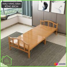 Giường tre gấp gọn, chất liệu tre cao cấp thân thiện, an toàn cỡ 60cm*190cm