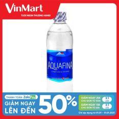 [Siêu thị VinMart] – Nước khoáng thiên nhiên Aquafina chai 500ml