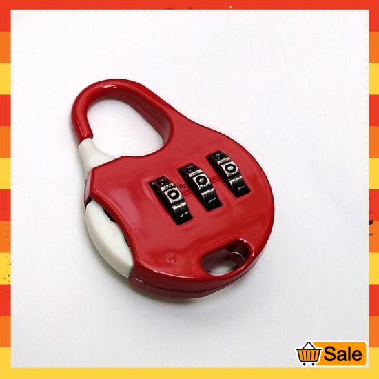 Khoá số balo – Ổ khóa mini 3 số khóa vali chống trộm – Khóa balo chống trộm – Ổ khóa mini [GIÁ SỈ]
