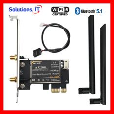 Card WIFI dùng chip Intel WIFI AX200 tích hợp Bluetooth 5.1