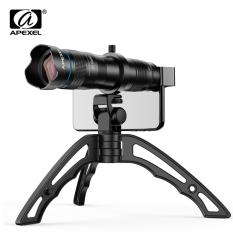 Lens telephoto Apexel 36X có Tipod- Ống kính chụp xa cho điện thoại smartphone