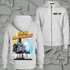 Áo Khoác Free Fire Màu Xám – Băng Giá