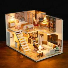 Mô hình gỗ DIY – Biệt Thự Vườn Mô hình lắp ráp handmade thu nhỏ – Biệt Thự, Thiết Kế Nhỏ Gọn, Sang Trọng, Thỏa Sức Sáng Tạo Cho Bé Như Mơ – Mô hình biệt thự, Món quà nhỏ ý nghĩa lớn tăng tính sáng tạo