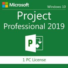 Project Professional 2019 32/64 Bit; active key