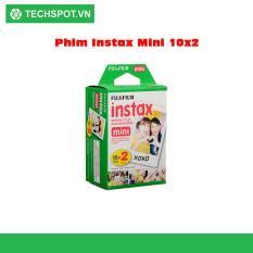Hộp phim Fujifilm instax mini Instant Color Film (20 tấm)- Techspotvn
