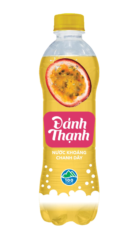 Nước Khoáng Thiên Nhiên Có Ga Đảnh Thạnh Khoáng Chanh Dây chai 430ml (thùng 24 chai)