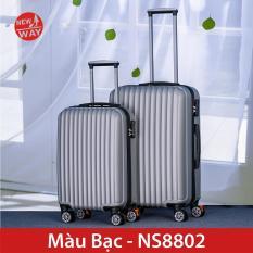 Vali NEWWAY NW8802 Vali du lịch Vali kéo vali nhựa abs Size 20inch