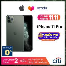 Điện thoại Apple iPhone 11 Pro – Phân Phối Chính Hãng VN/A – Màn Hình Super Retina XDR 5.8inch, Face ID, Chống nước, Chip A13, 3 Camera, Đi Kèm Sạc Nhanh 18W