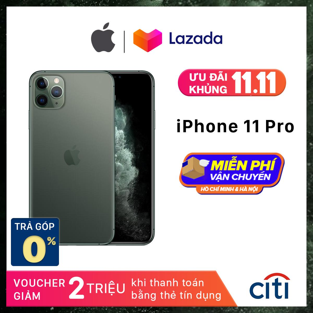 Điện thoại Apple iPhone 11 Pro - Phân Phối Chính Hãng VN/A - Màn Hình Super Retina XDR 5.8inch, Face...