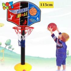 Cột đồ chơi bóng rổ phát triển chiều cao cho trẻ khỏe mạnh