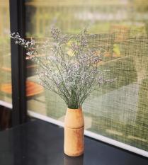 Lọ cắm hoa bằng tre, bao gồm 3 kiểu dáng, thiết kế mộc mạc, giản dị – Dùng để cắm hoa trang trí nhà cửa, phòng ngủ, bàn làm việc, văn phòng,..