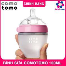 Bình Sữa Comotomo 150ml – Bình Sữa Siêu Mềm Cho Trẻ Sơ Sinh, Núm Ty 1 Tia, Chất Liệu Silicone, Xuất Xứ Hàn Quốc – BETITI